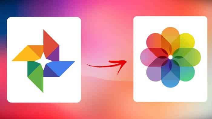 كيفية نقل الصور من صور Google إلى Icloud أحلى هاوم