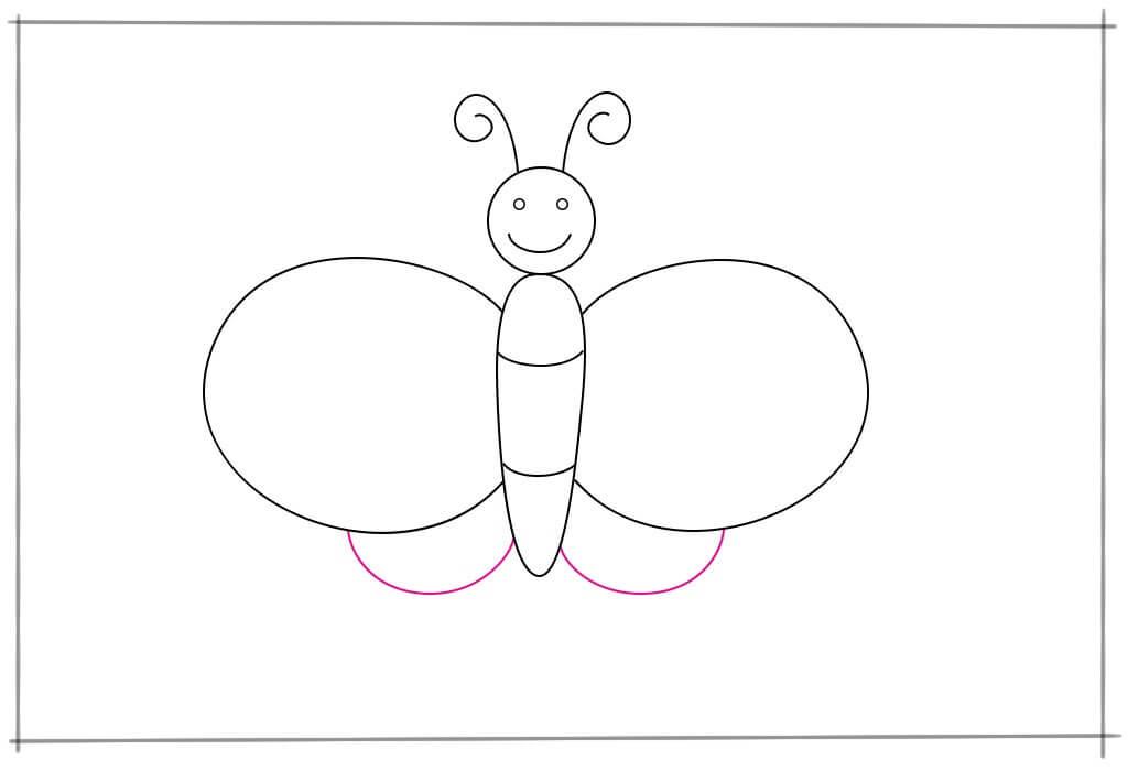 Comment Dessiner Un Papillon Pour Les Enfants La Maison La Plus Douce