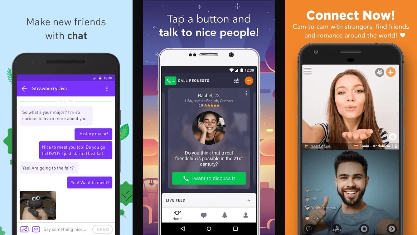 Video android anonymous for chat app 10 Best