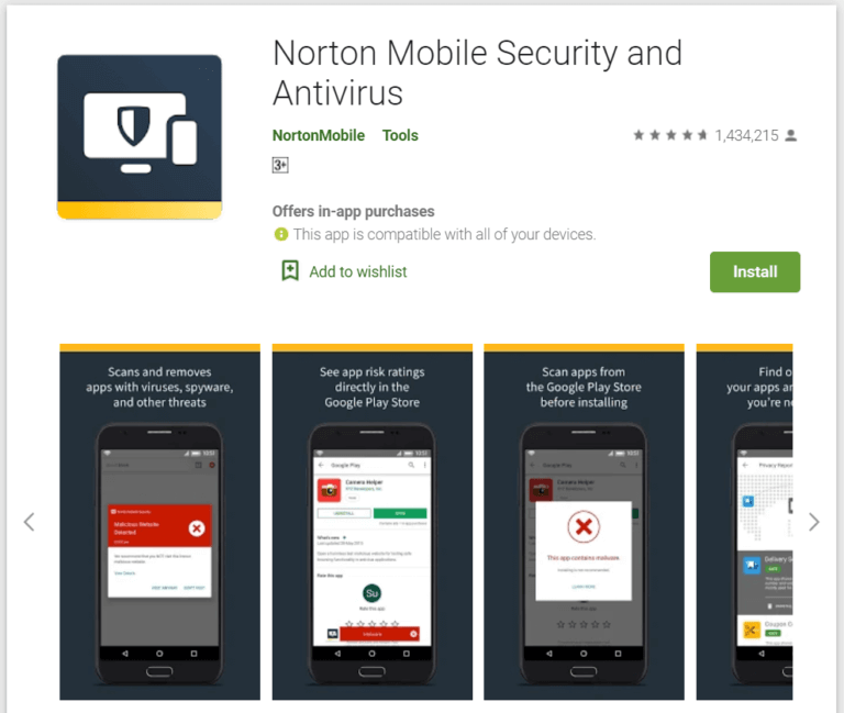 norton 768x649 1 - أفضل 10 برامج مكافحة فيروسات مجانية لنظام Android في 2020