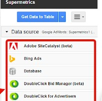 supermetrics - أفضل 15 وظيفة إضافية لـ Google Sheets لتحسين الأداء