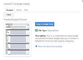 template gallery - أفضل 15 وظيفة إضافية لـ Google Sheets لتحسين الأداء